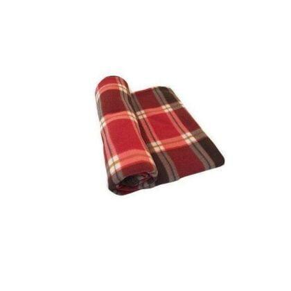 Hiver 2021 Plaid 230-200cm-écossai-rouge-marron