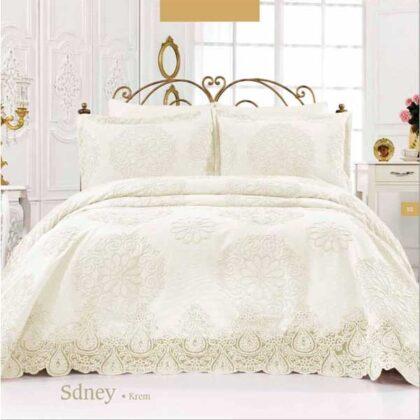 Parure de lit golden home sydney blanc