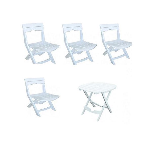 Promotion table et 4 chaises Ruspina
