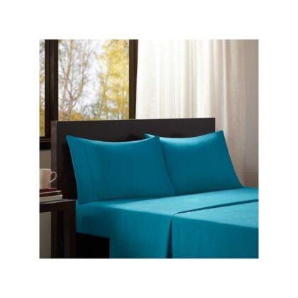 Parure de lit turquoise