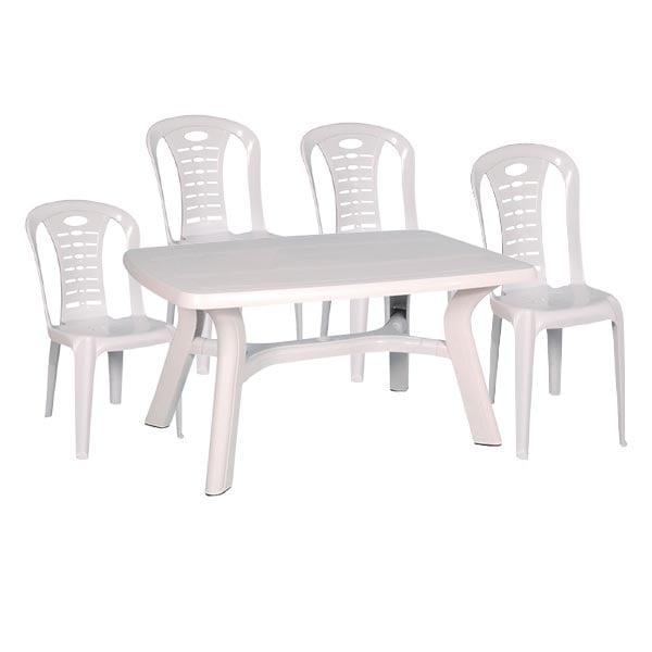 table-140-4chaise-sotufab-blanc--promotion-electromenager-tunisie (1)