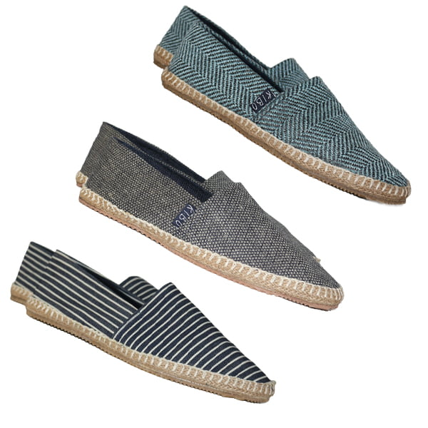 Pack 3 Ballerines pour homme