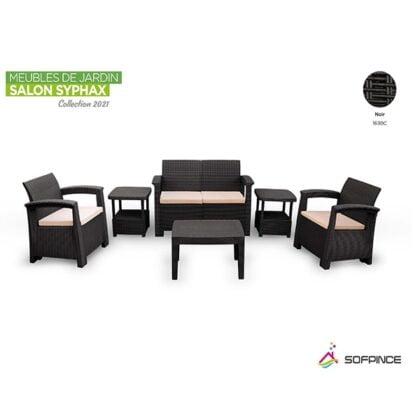 meuble d'extérieur en rotin - salon de jardin - décor - été 2021