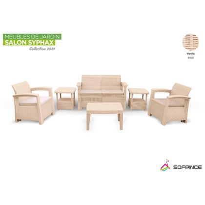 salon de jardin - promotion Tunisie -meuble d'extérieur - rotin
